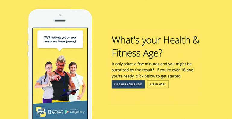 Health & Fitness Age