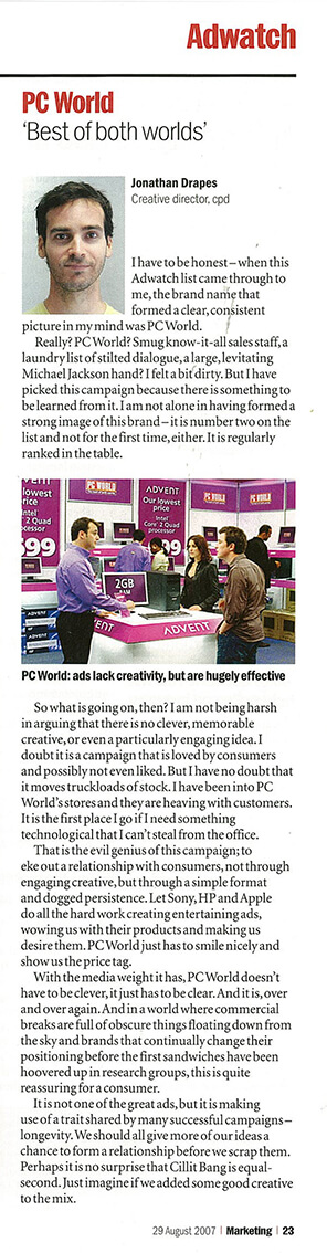 Marketing Week PC world2